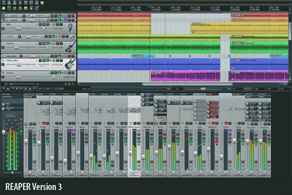 Cockos Reaper, multitrack audio and MIDI software gets improvements