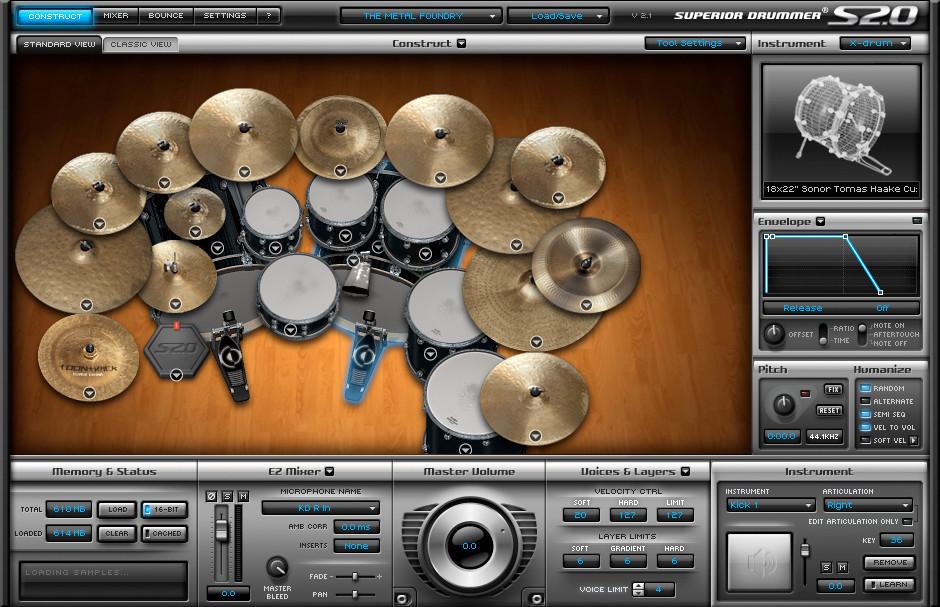 Superior Drummer Metal