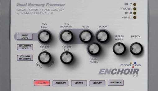 prodyon enchoir v1 3 a vocal harmony processor vst plug in for windows. Black Bedroom Furniture Sets. Home Design Ideas