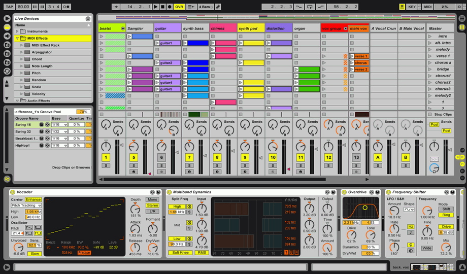 Ableton live version 8 1 4 for pc and mac includes many bugfixes - Ableton live lite free download ...