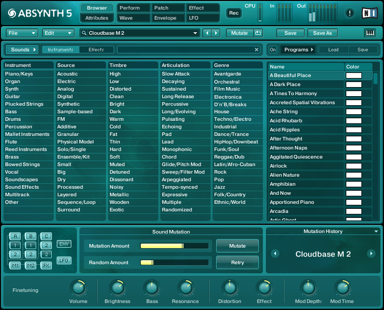 Native Instruments Absynth 5.0 VSTi AU RTAS MAC OSX INTEL
