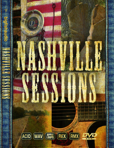 Big fish audio nashville sessions a collection of for Big fish audio