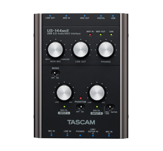 tascam us 122 mkii manual