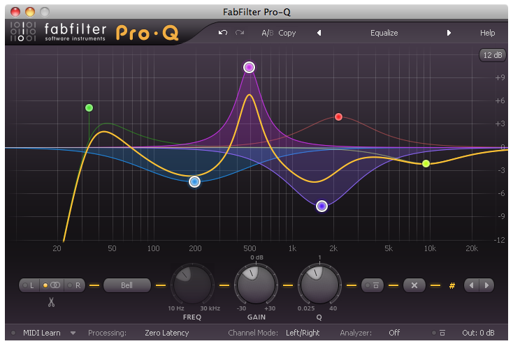 fabfilter pro-q, equalizer plug-in gets various fixes and improvements