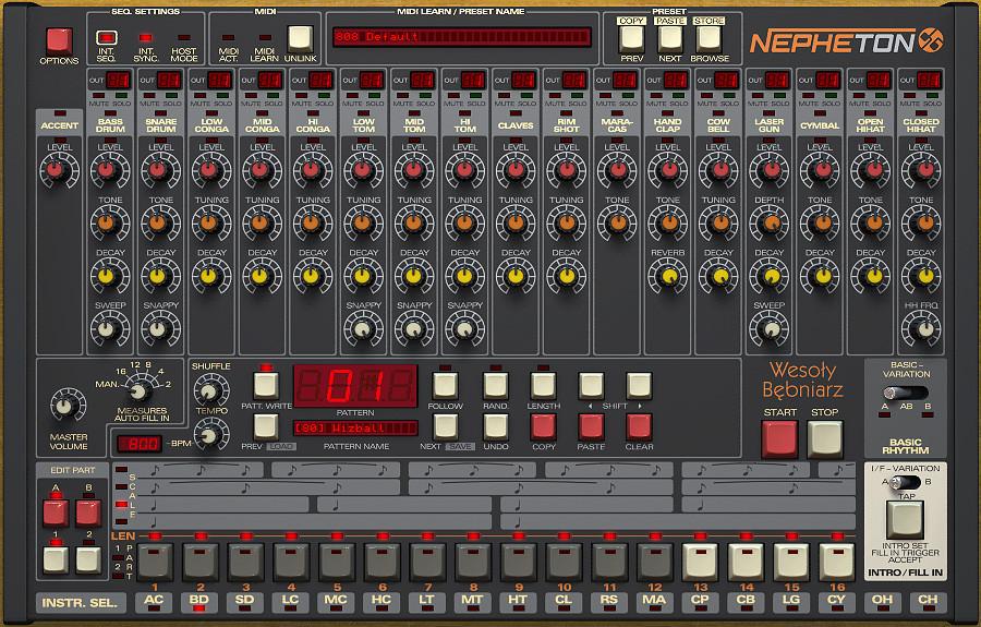 d16 group nithonat drumazon and nepheton drum machine instruments get some fixes in version 1 4 2. Black Bedroom Furniture Sets. Home Design Ideas