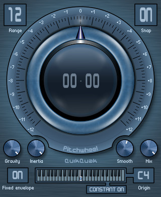 QuikQuak Pitchwheel 3, a real-time pitch shifting plug-in for