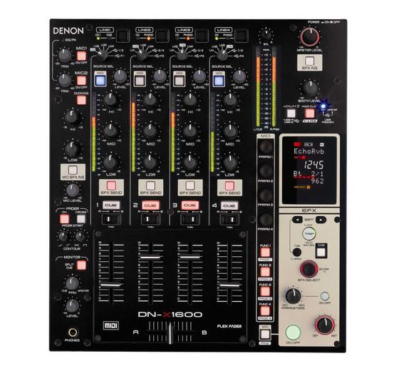 Denon Dj Dn X1600 Cost Effective Mixer For Professional