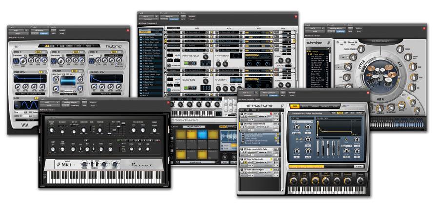 Pro Tools Instrument Plugins