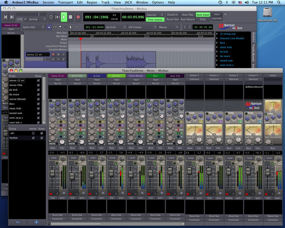 harrison consoles mixbus virtual mixing console gets some