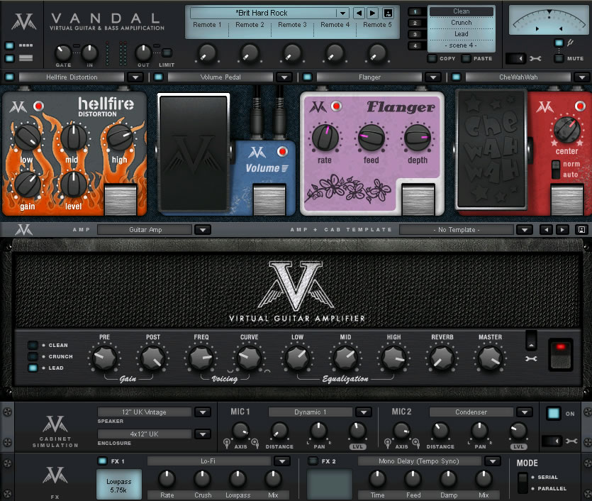 magix vandal virtual bass guitar amplifier effect plug in for pc and mac. Black Bedroom Furniture Sets. Home Design Ideas