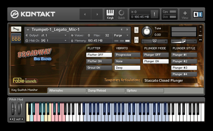 fable sounds broadway big band kontakt 4 edition virtual instrument now shipping from sonivox. Black Bedroom Furniture Sets. Home Design Ideas