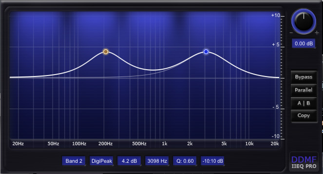 DDMF IIEQ Pro, equalizer effect for PC and Mac gets some fixes