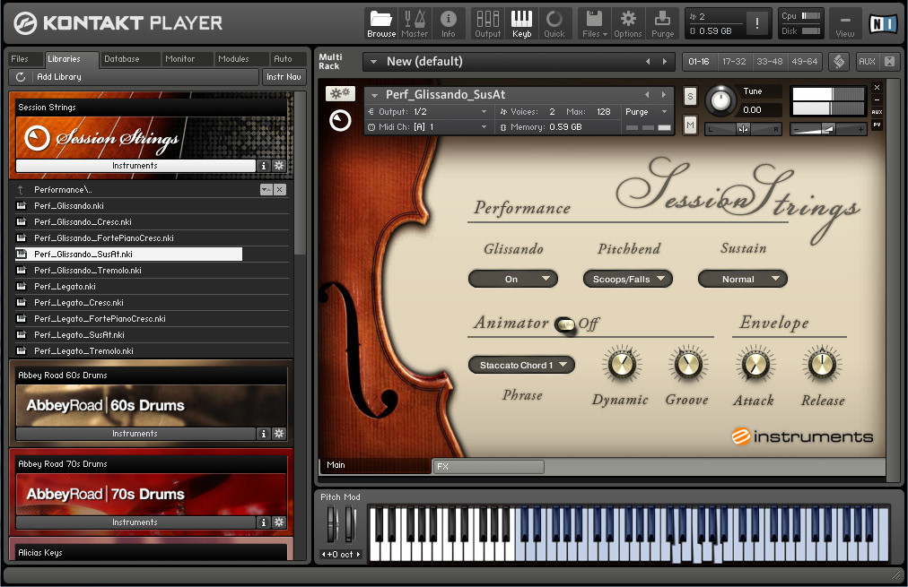 Native Instruments Session Strings A Versatile Virtual