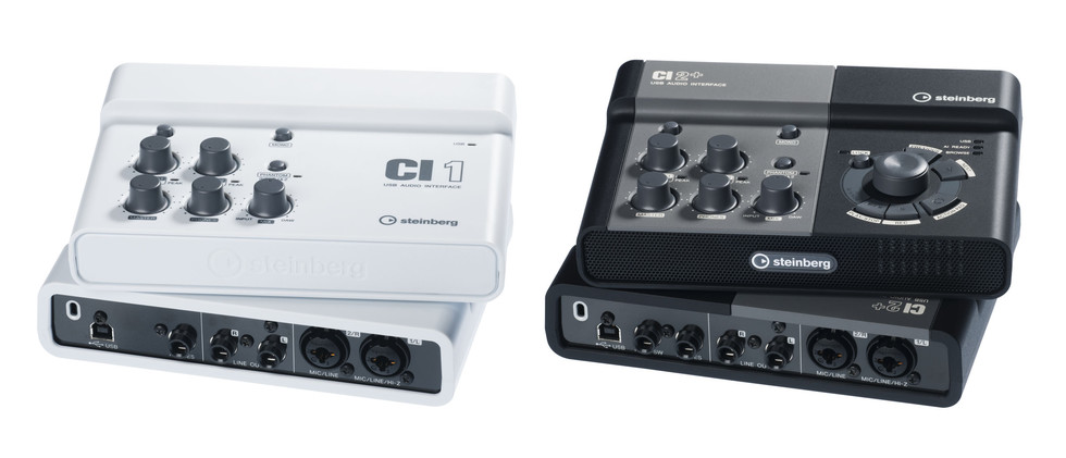 Poddi Personal Audio Interface : Steinberg adds ci and two channel usb interfaces
