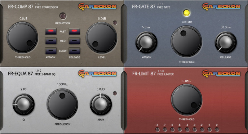 eaReckon FREE87, free analog-style VST effect plug-ins updated