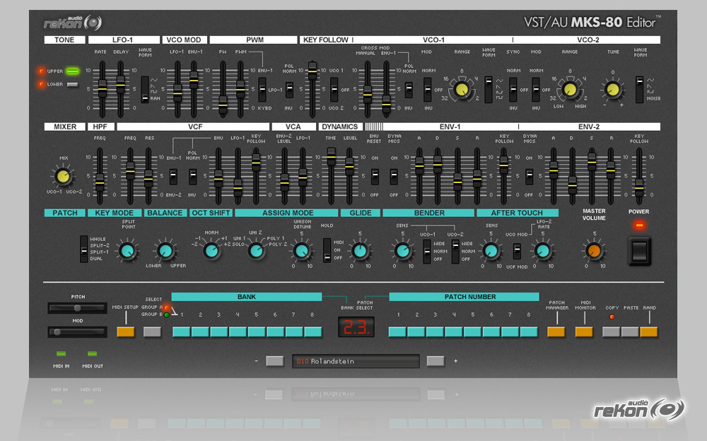 vst au little phatty editor for mac free