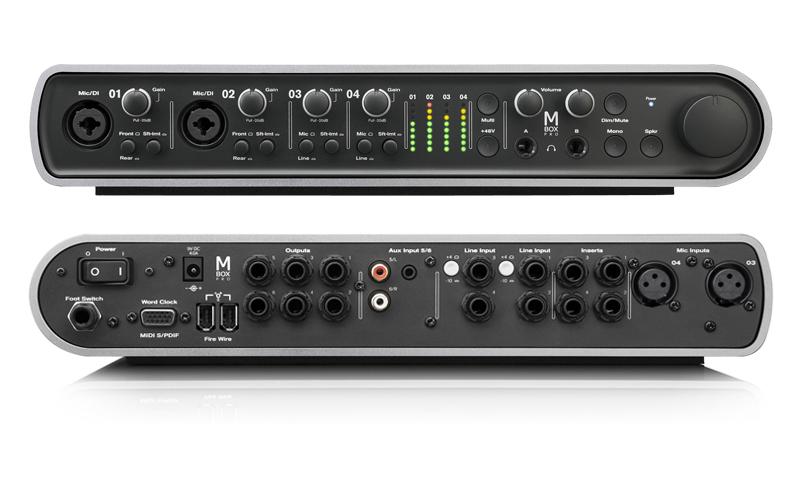 Expressive Digidesign Mbox 2 Pro Digital Recording Interface Audio/midi Interfaces
