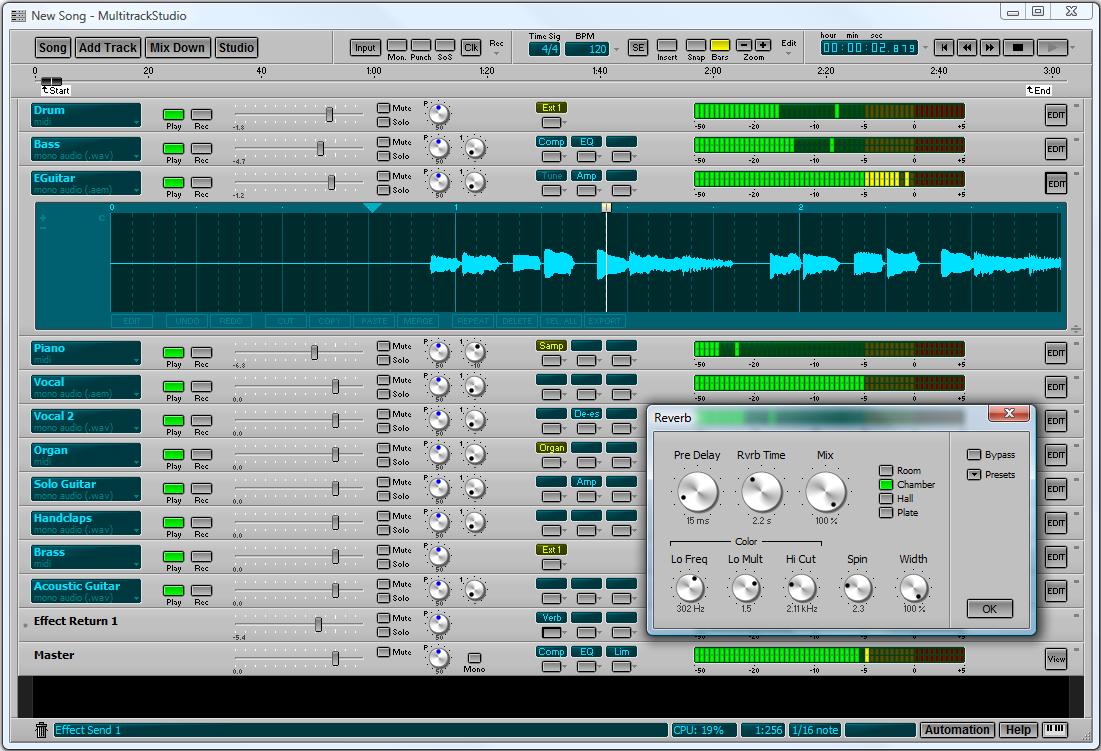Bremmers audio design multitrackstudio multitrack for Recording studio design software