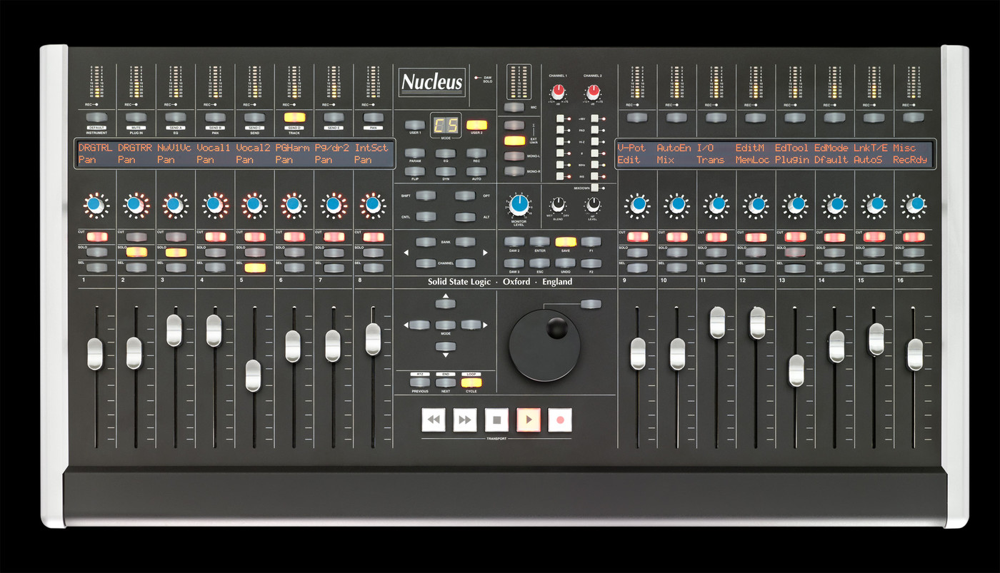 ssl nucleus advanced daw control versatile usb audio interface mic pre 39 s superanalogue. Black Bedroom Furniture Sets. Home Design Ideas