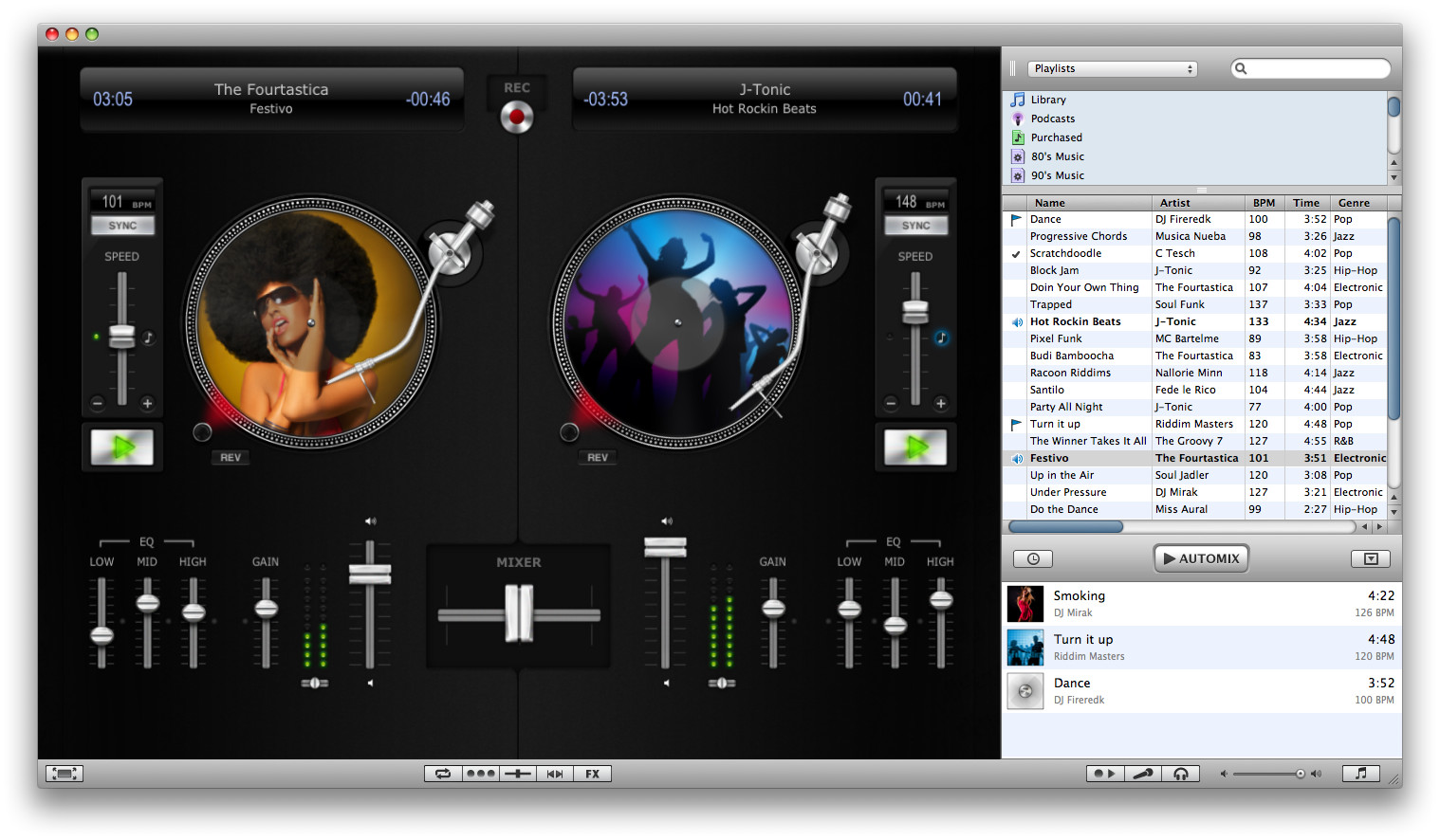Algoriddim Djay 3.1.2 for Mac