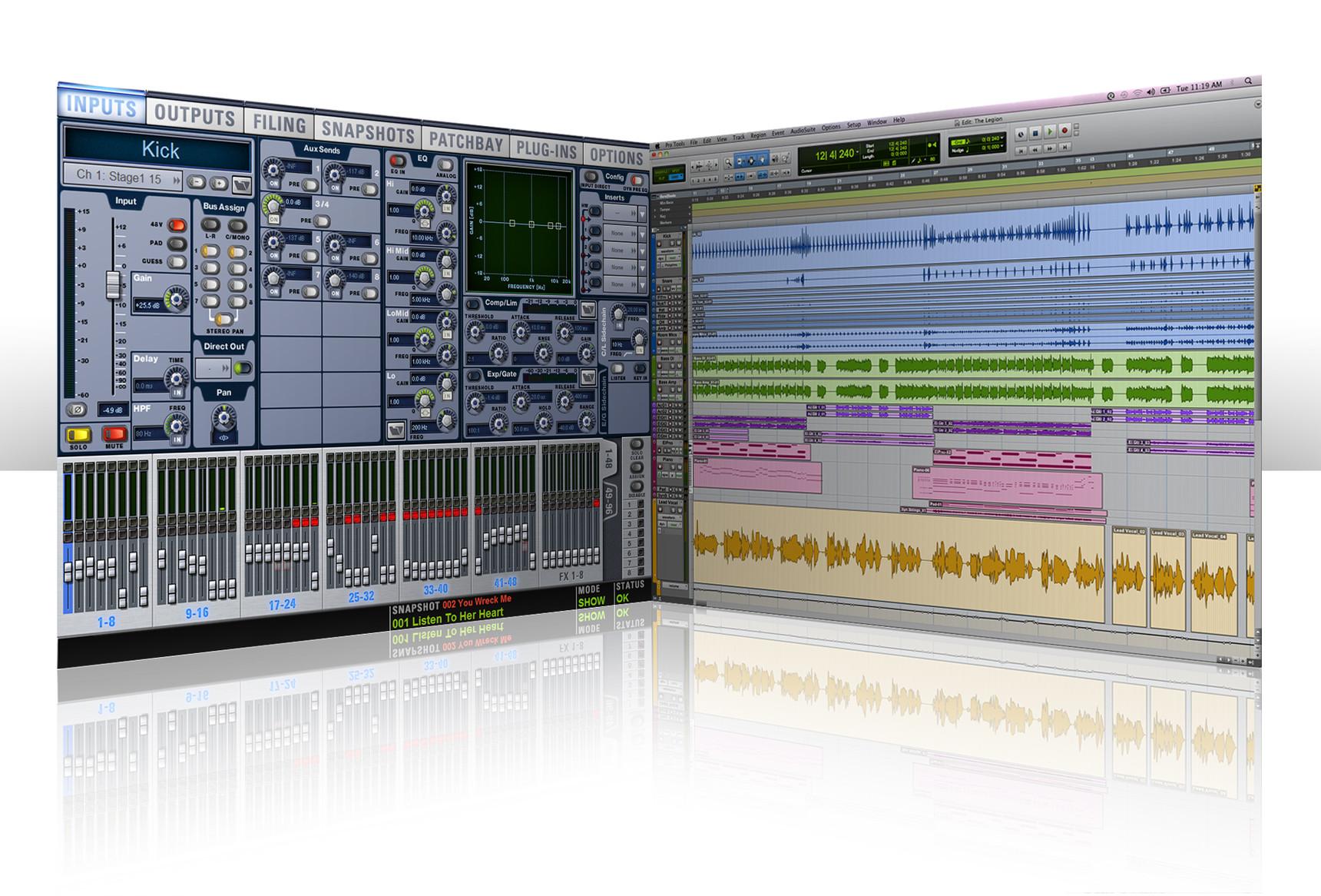 Avid VENUE 2 9 software, New Direct Link Between VENUE and