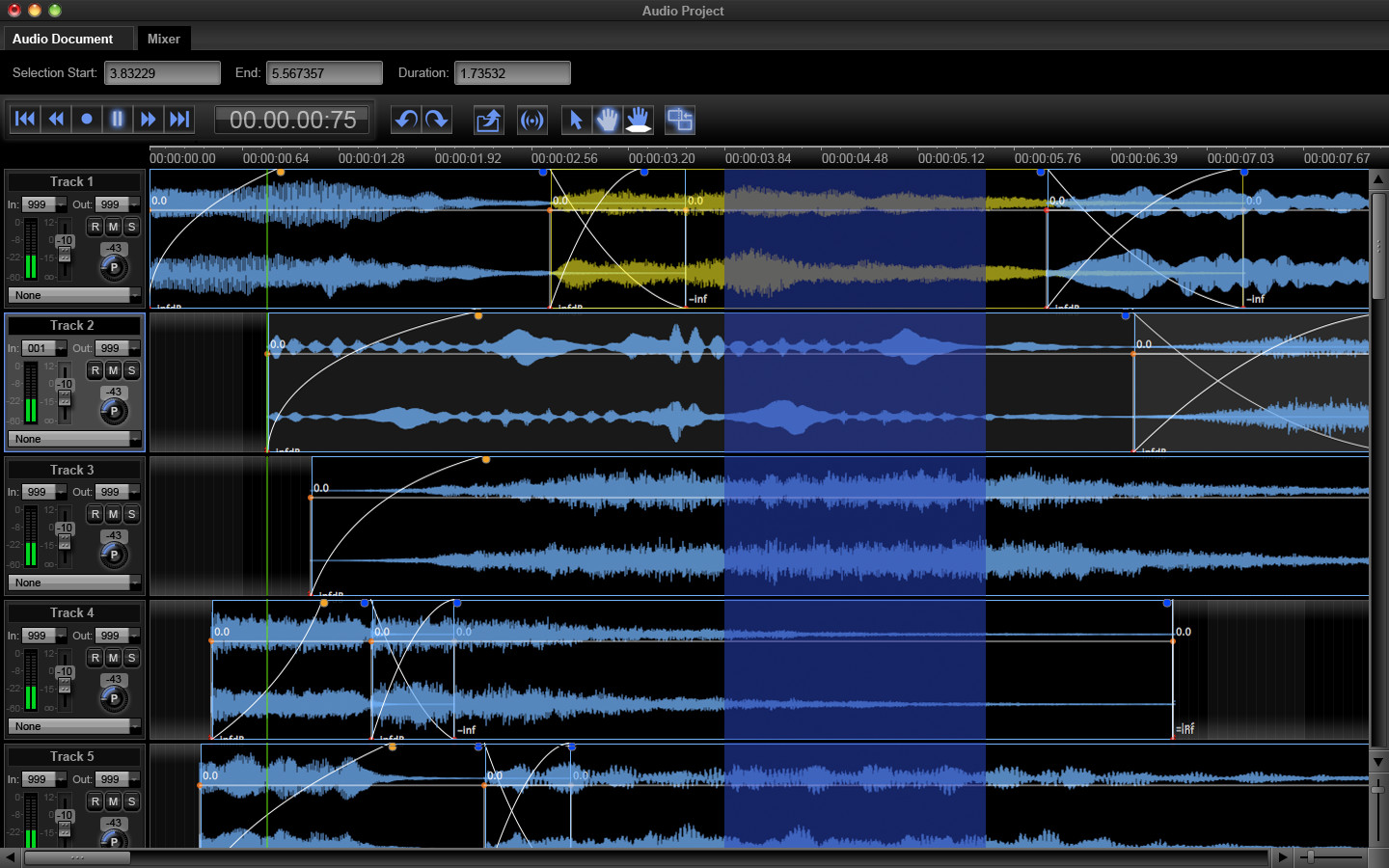 music editing software