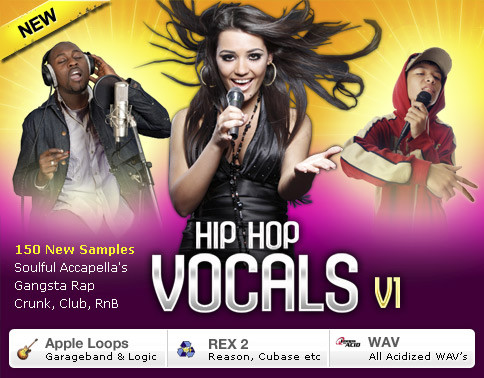 Platinum Loops Hip Hop Vocals, vocal sample pack for hip hop