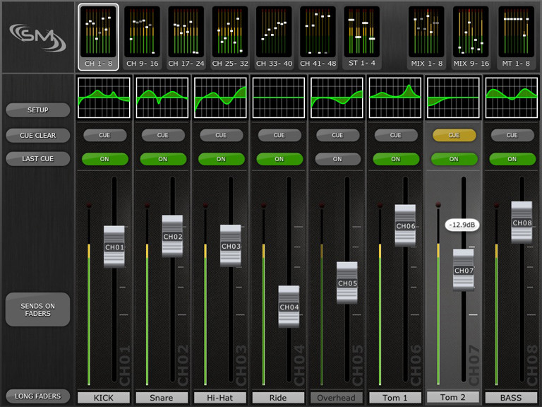 Yamaha releases m7cl stagemix for ipad remote control app for Yamaha remote control app