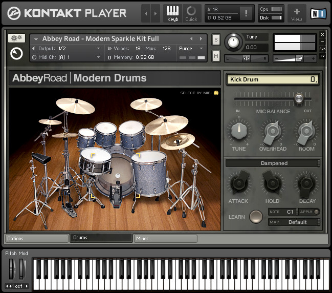 Ni abbey road modern drums download games