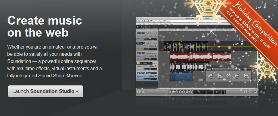 soundation studio free sounds new soundsets available and holiday