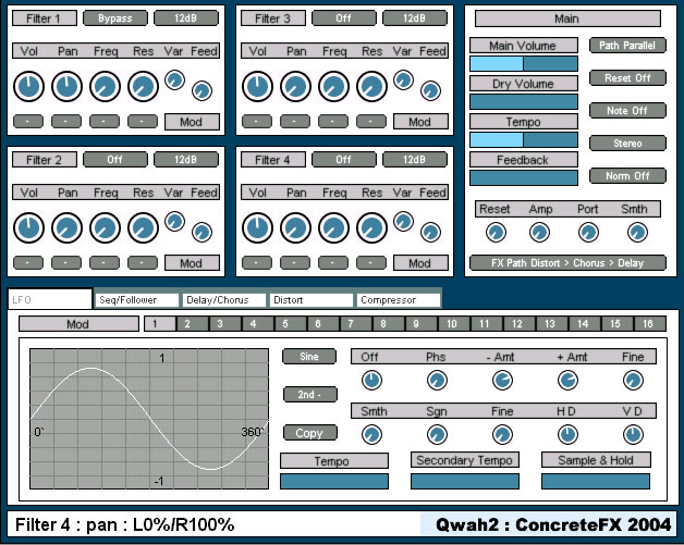 ConcreteFX FX Pack, free VST effects for Windows