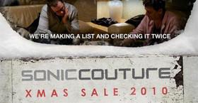 Soniccouture Christmas Sale