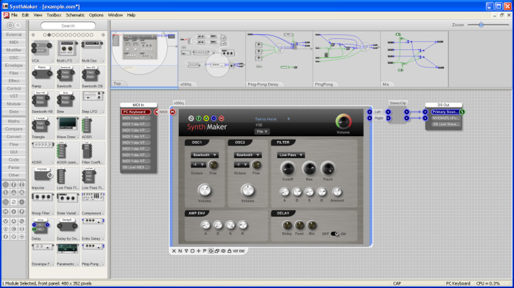 Outsim synthmaker professional edition 2.0.2
