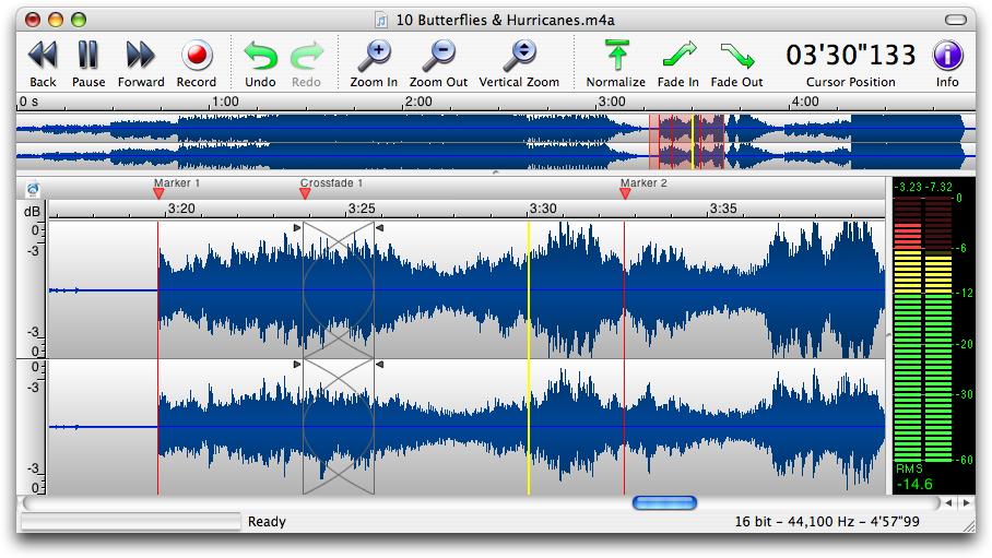 аудиоредактор на Mac - фото 6