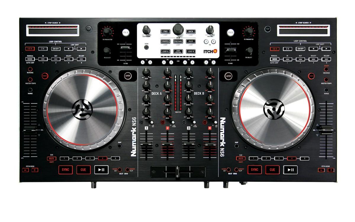 As principais controladoras de 4 decks: Compare american audio, controladora 4 decks, controladora midi, ddj-t1, numark ns6, pioneer, vms4
