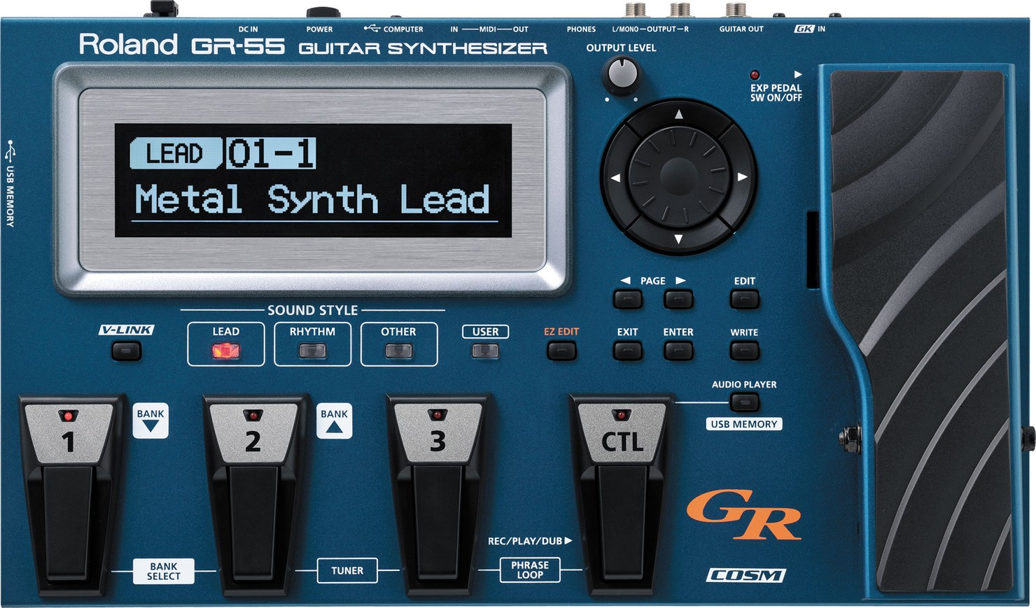 GR-55 Guitar Synthesizer Version 15 Additional Patches
