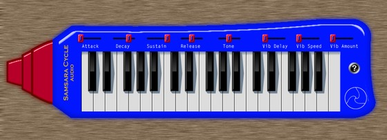 Samsara Cycle Audio SM01 Virtual Melodica