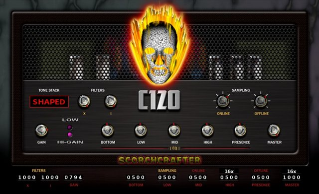 scorchcrafter c120 free guitar amp head effect plug in for windows mac linux coming. Black Bedroom Furniture Sets. Home Design Ideas