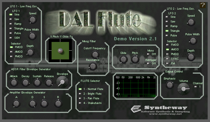 Syntheway DAL Flute, virtual woodwind instrument gets Shakuhachi and