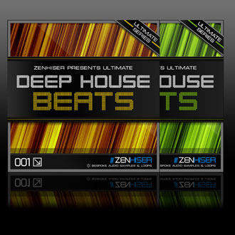 Zenhiser deep house beats two new sample packs for Deep house hits