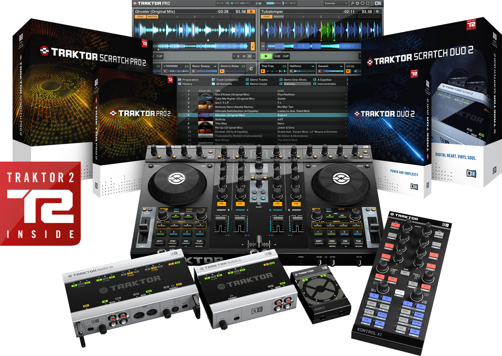 native instruments traktor 2 revised dj software and digital vinyl systems offer enhanced. Black Bedroom Furniture Sets. Home Design Ideas