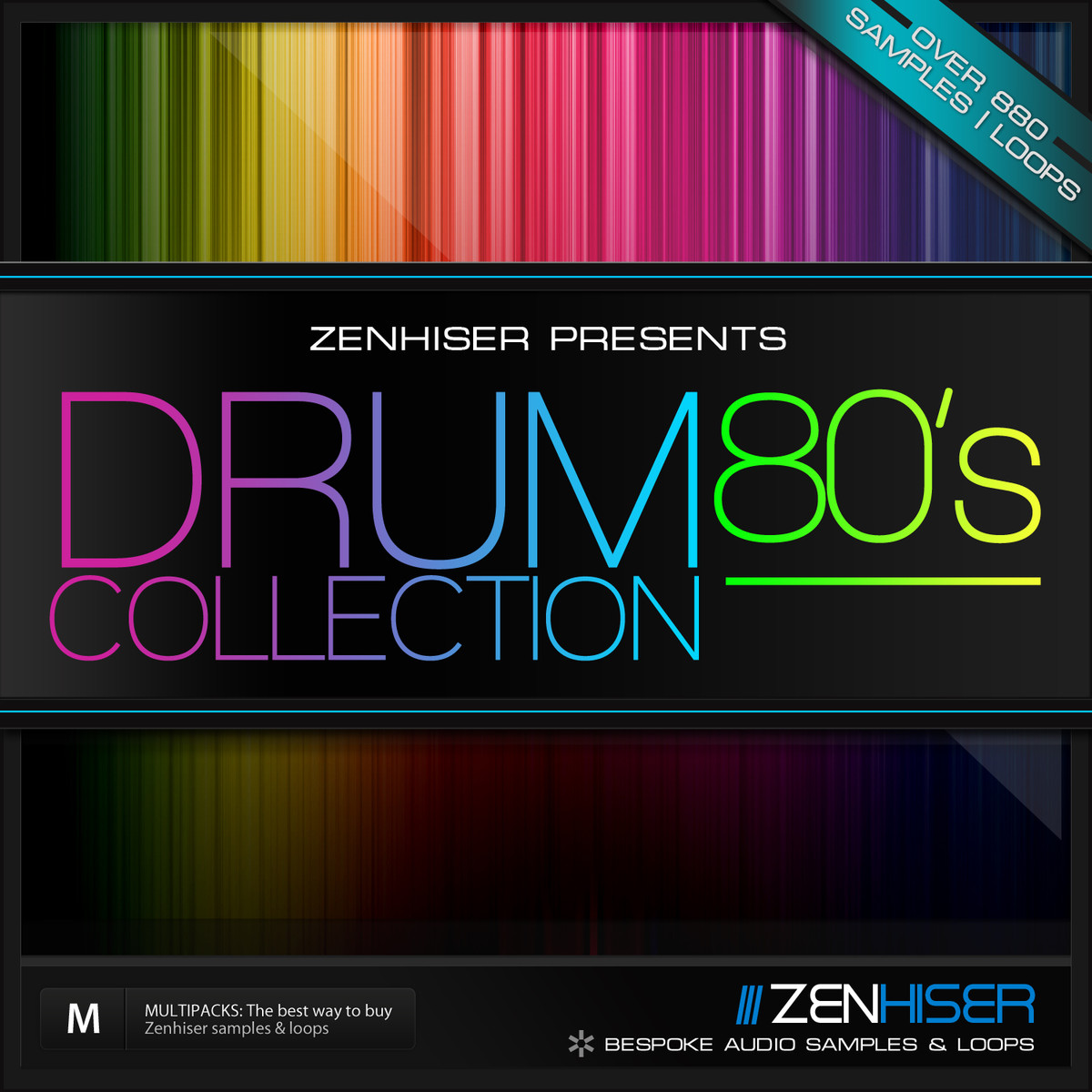 Zenhiser 80 39 s drum collection released 60 off multipack for Zenhiser classic house drum sounds