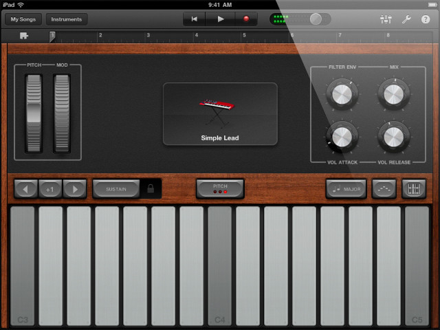 Music Software App