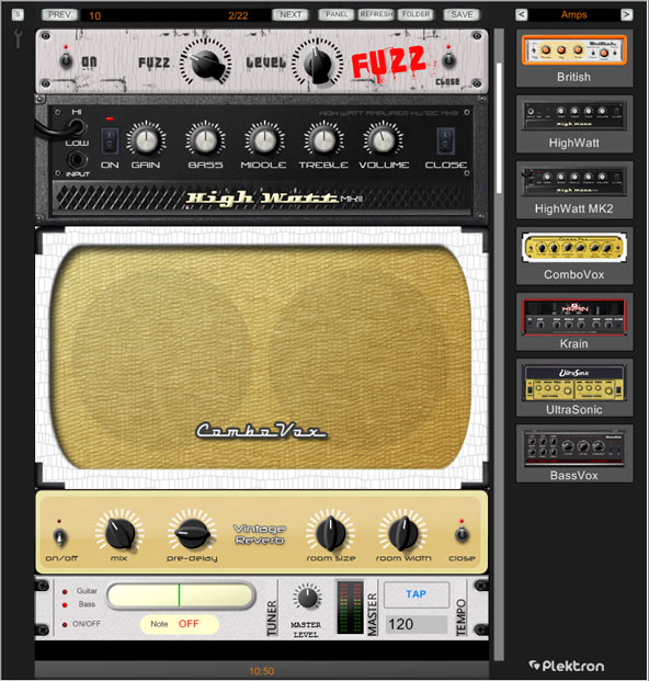 plektron guitar amp gets new bluesman amp cabinet in v1 2 free vinylizer simulation plugin. Black Bedroom Furniture Sets. Home Design Ideas