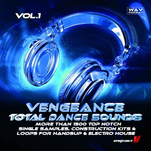 Vengeance Total Dance Sounds Vol 1, new sample pack for house music