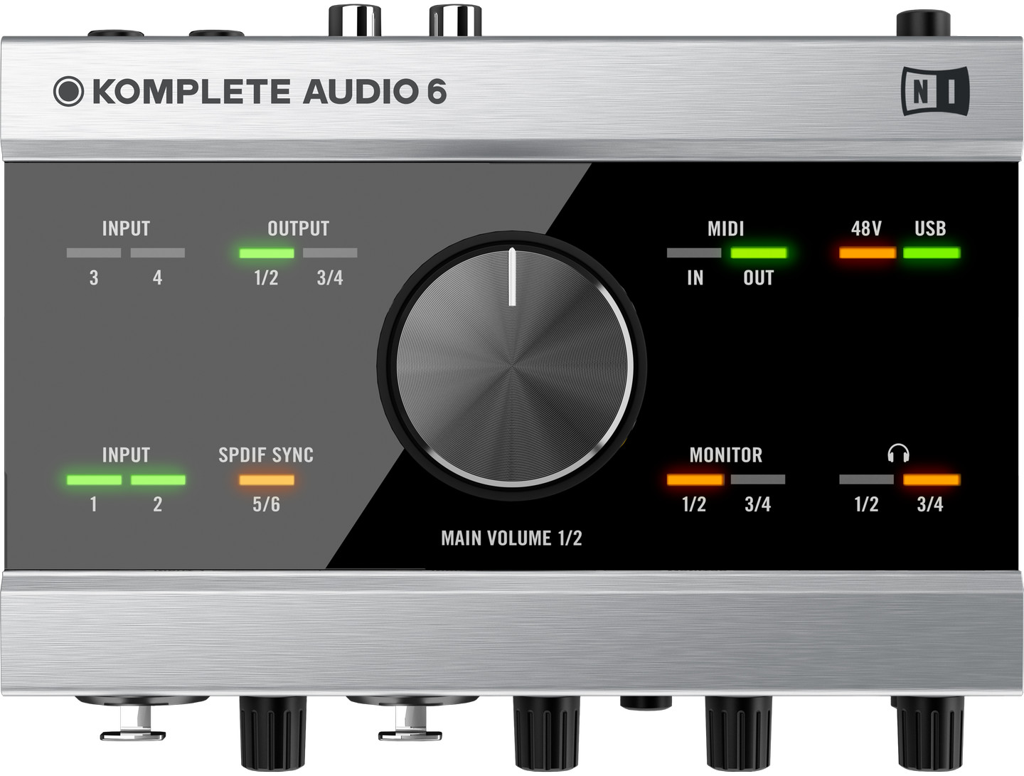 Native Instruments Komplete Audio 6 6 Channel Audio Interface
