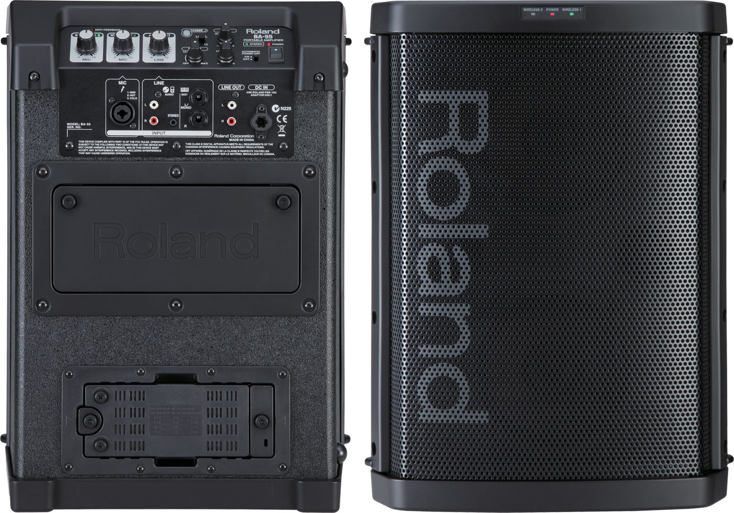 Roland Ba 55 Battery Powered Portable Pa System Introduced