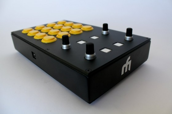 dj techtools midi fighter pro new series of midi controllers now available. Black Bedroom Furniture Sets. Home Design Ideas