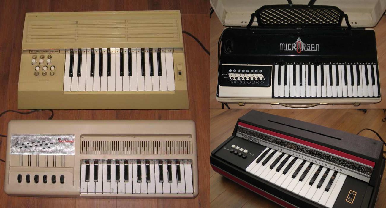Les Productions Zvon Reed Organs, reed chord organ sample library