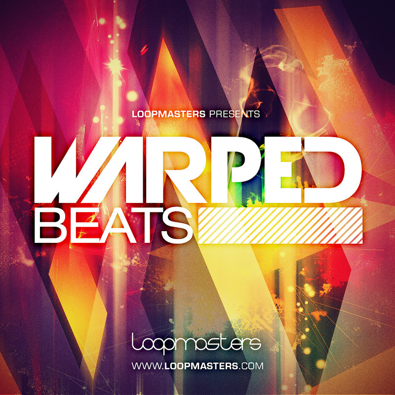 Loopmasters Warped Beats, chopped beats and samples